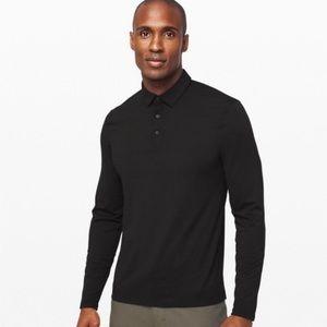 Lululemon • Evolution Long Sleeve Polo Shirt